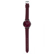 Montre Color bordeaux - Femme (49256)